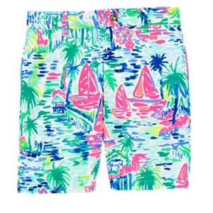 "Lilly Pulitzer Beaumont Shorts ""Salt in the Air"""